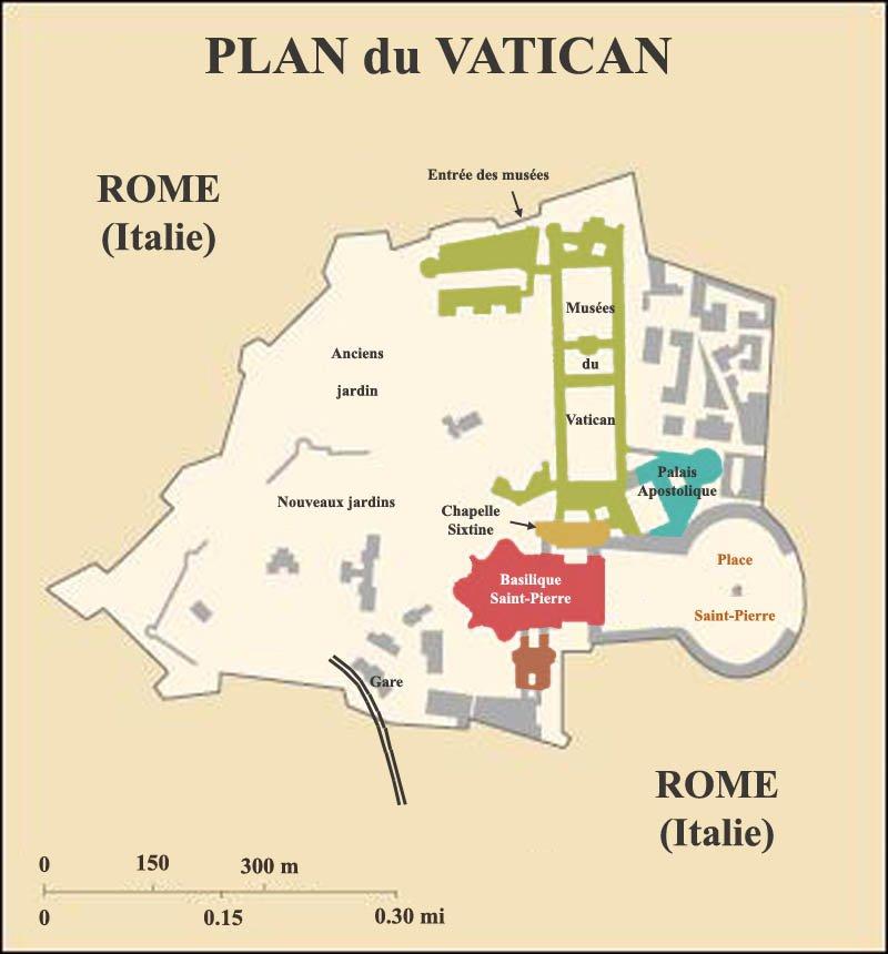 Vatican visite carte - Obligation de visite du locataire ...
